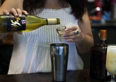 TaxiBoat Sake Cocktail